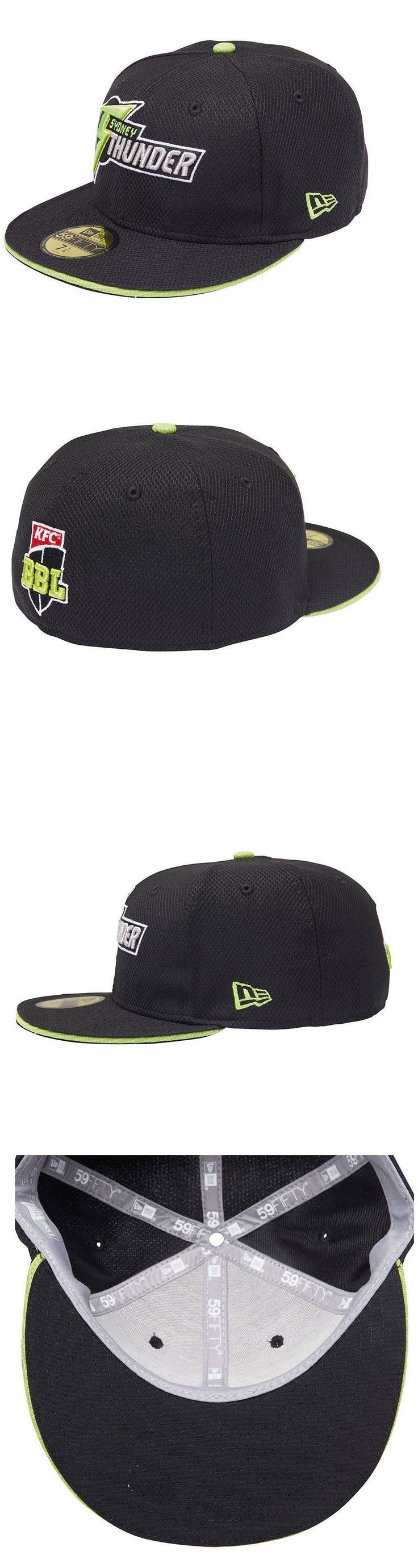Hats and Headwear 123876: New Era Sydney Thunder 2016 17 59Fifty On-Field Away Cap - Size 7 1 2 Or 5 8 -> BUY IT NOW ONLY: $160.95 on eBay!