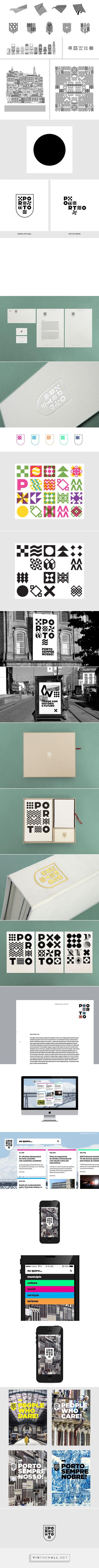 Porto / City Identity and Branding Proposal on Behance - https://www.behance.net/gallery/19950165/Porto-City-Identity-and-Branding-Proposal