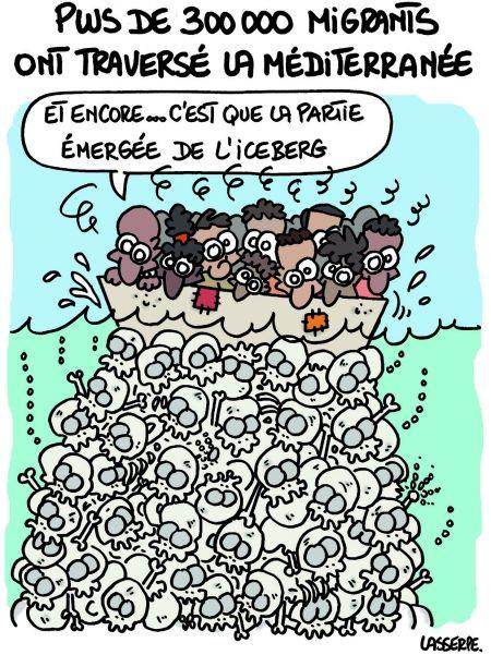 Lasserpe 2015 09 08 iceberg dessin de presse r fugi s - Dessin marianne ...