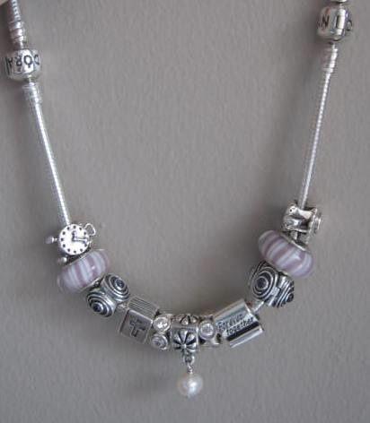 pandora necklace ideas