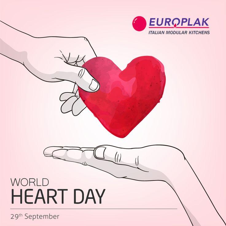 Keep your heart healthy & happy.. Happy #WorldHeartDay  #EuroplakIndia