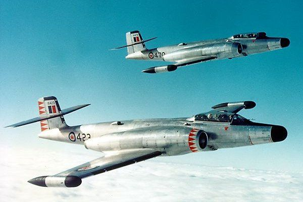 """CF 100Mk4"" When I was a child, those were common sight in the sky."