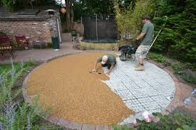 Image result for gardens with gravel paving grids uk