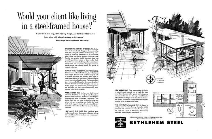 https://flic.kr/p/VQQkgD | Bethlehem Steel ad 1963