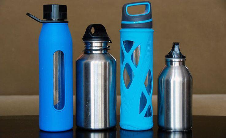 Qual é o melhor tipo de garrafa de água reutilizável?