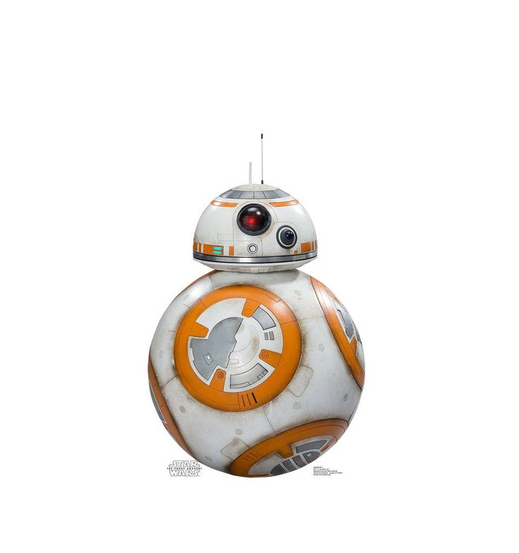 BB-8 - Star Wars Episode VII: The Force Awakens - Advanced Graphics Life Size Cardboard Standup