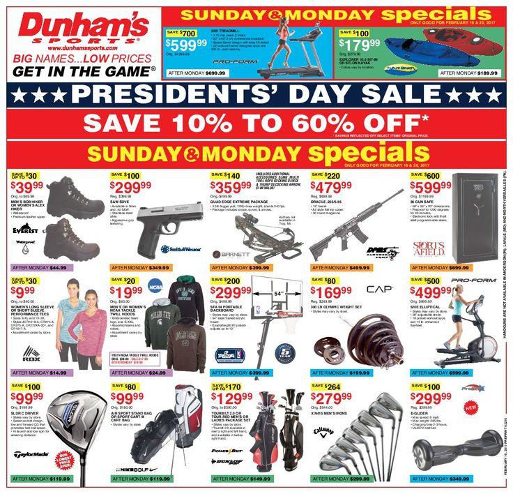 Dunham Sports Weekly Circular February 18 - 23, 2017 - http://www.olcatalog.com/dunhams-sports/dunham-sports.html