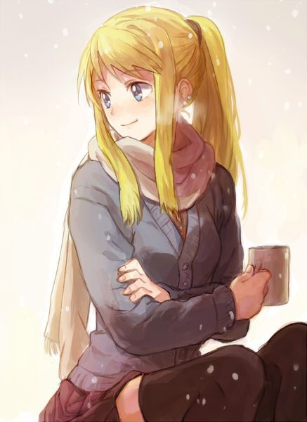 blonde den winry and - photo #5