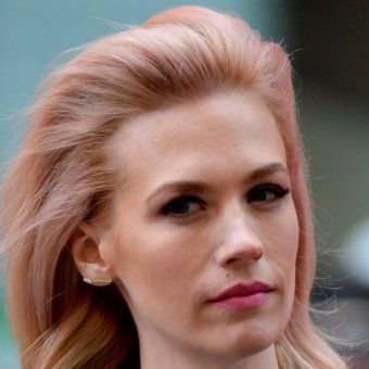Le blond aux reflets rose de January Jones
