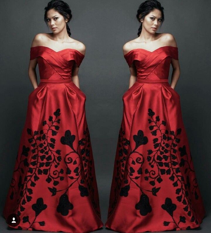 Handpainted gowns - collaboration between fashion designer ...