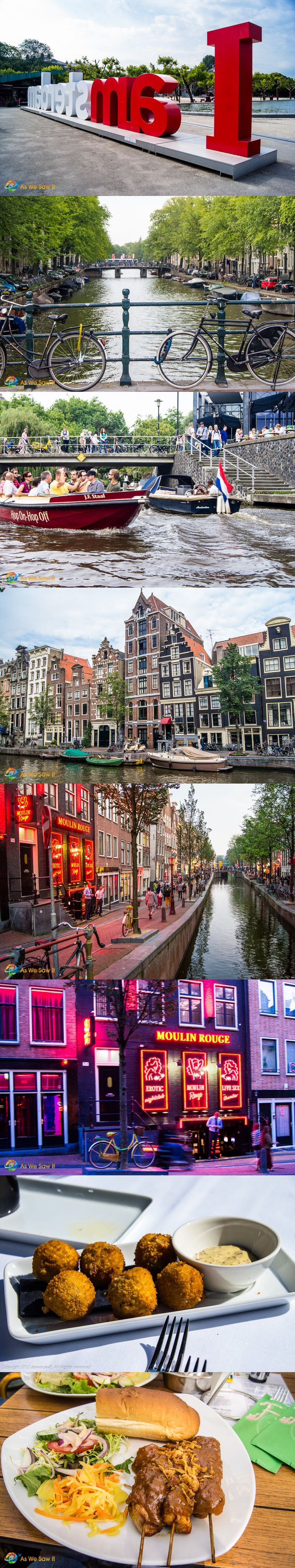 Amsterdam in one day? Yes you can! The Venice of the north deserves several days, but when you have a layover do these.