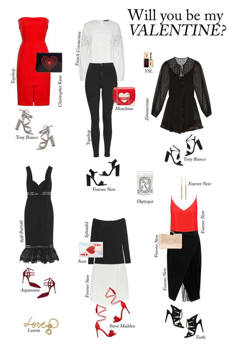 Shop the post at What Would Karl Do: http://whatwouldkarldo.com/what-to-wear-on-valentines-day/