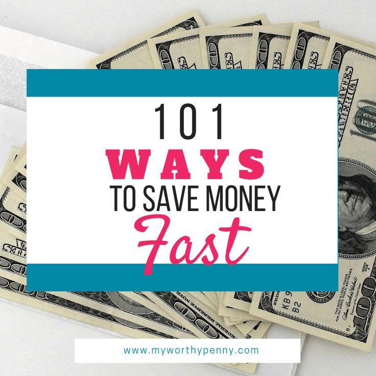 Suchen Sie nach Möglichkeiten, um schnell Geld zu sparen? In diesem Beitrag finden Sie 101 was …   – Budgeting