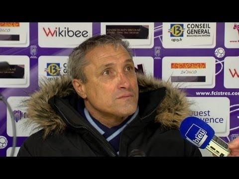 FOOTBALL -  Conférence de presse FC Istres - AJ Auxerre (0-3) - http://lefootball.fr/conference-de-presse-fc-istres-aj-auxerre-0-3/