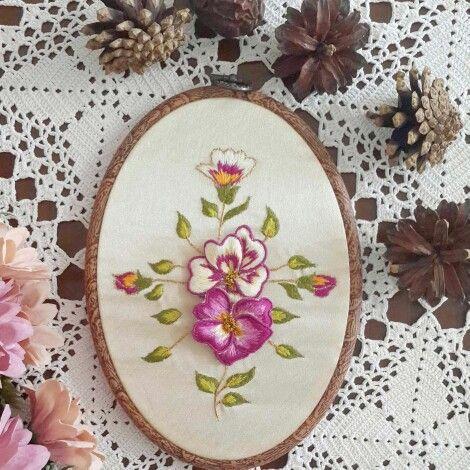 Boyutlu nakış (embroidery) tablom hazır