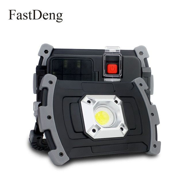 High Bright Led Portable Spotlight Floodlight 20w Outdoor Waterproof Lighting Usb Rechargeable Led Work Light Fo In 2020 Portable Spotlight Led Work Light Portable Led