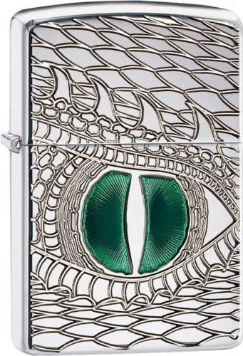 Zippo Armor Deep Carve Lighter With Green Enameled Dragon Eye, 28807, New In Box | Collectibles, Tobacciana, Lighters | eBay!
