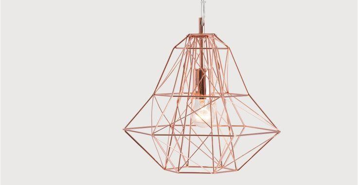 Nook Pendant, Copper | made.com