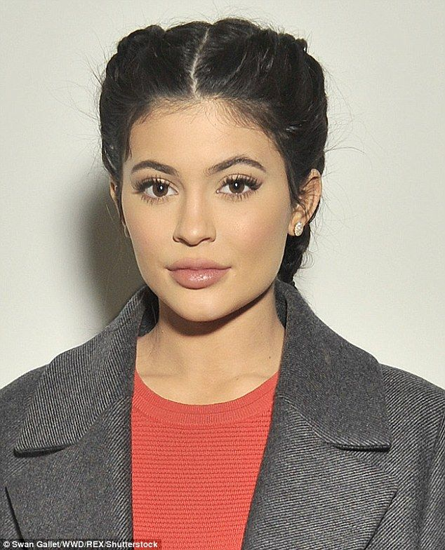 Super pout: Kylie Jenner admitted to having lip fillers last year after initially denying ...