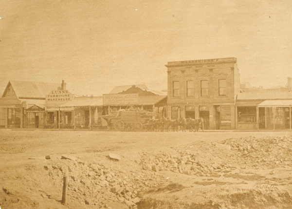 View Point Hotel [Bendigo] 1861