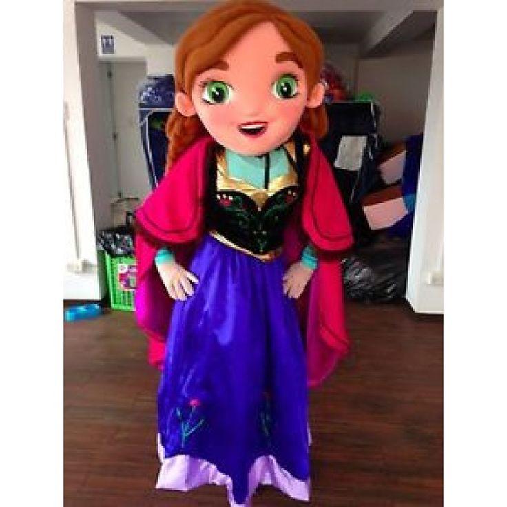 Disney Princess Anna Fun costume rental for birthday