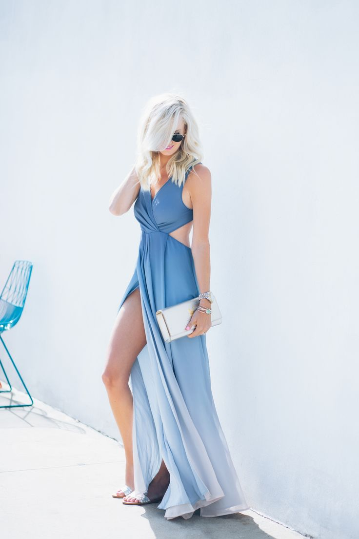 Ombre Maxi Dress - Mckenna Bleu