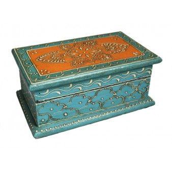 Orange & Turquoise Box