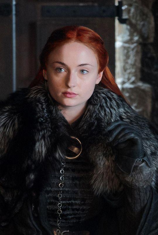Sansa Stark in Game of Thrones 7.04