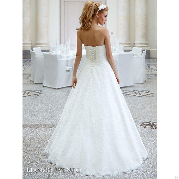 #Lange #ivoren #trouwjurk #bruidsjurk @WomenWantsNL