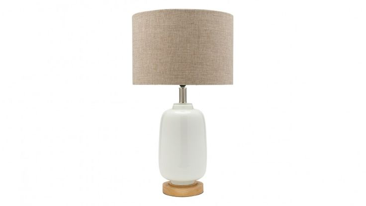Torquay Natural Table Lamp - Large - Table Lamps - Decorator Items - Furniture, Outdoor & BBQs | Harvey Norman Australia
