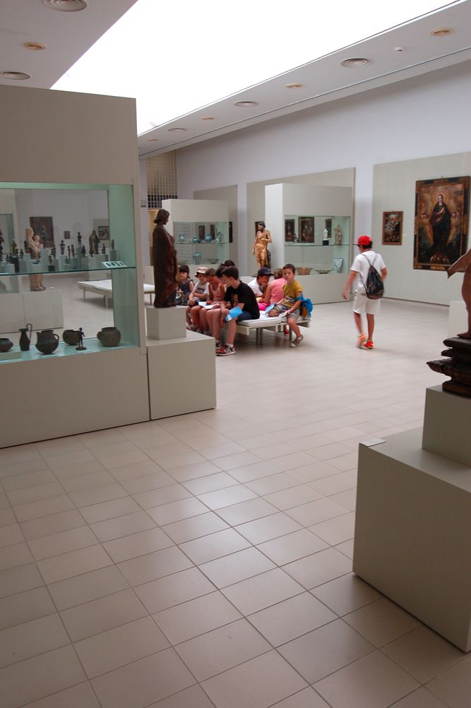 Primer turno del taller de arqueología 2015