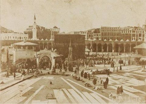 Masjid al-Haram thn1880