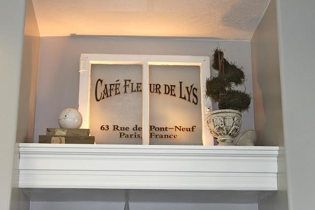 Plant shelf idea