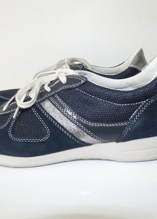À vendre sur #vintedfrance ! http://www.vinted.fr/chaussures-femmes/baskets/26985349-baskets-bleu-geox-taille-41-neuve