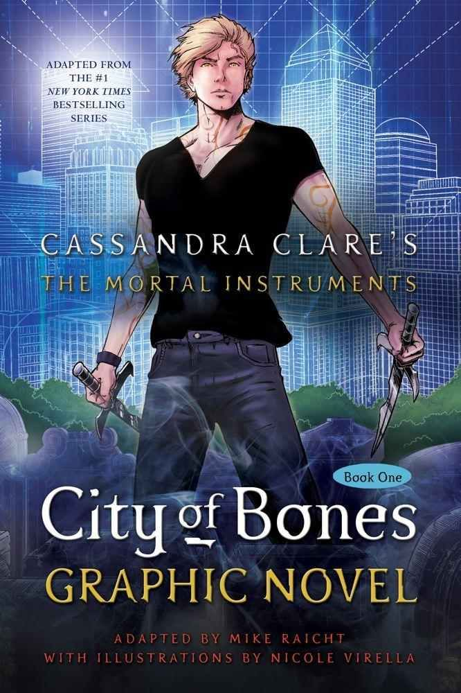 The Mortal Instruments: City of Bones | Book Series by Cassandra Clare | Graphic Novel