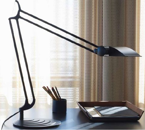 and sleek aesthetics reach new heights with the elegantly engineered diffrient task light ii an