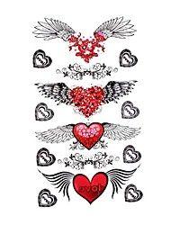 5 stuks waterdichte tijdelijke tattoo (17,5 cm * 10cm)