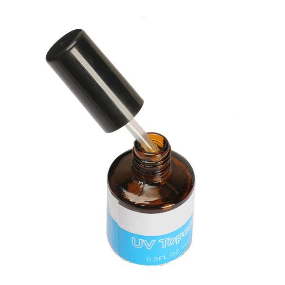 14ML UV Topcoat Top Coat Seal Glue Acrylic Nail Art Gel Polish Gloss Nails UV Glue Professional Nail UV Gel HB88