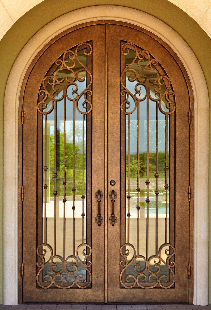 59 best elegant wrought iron doors images on pinterest wrought