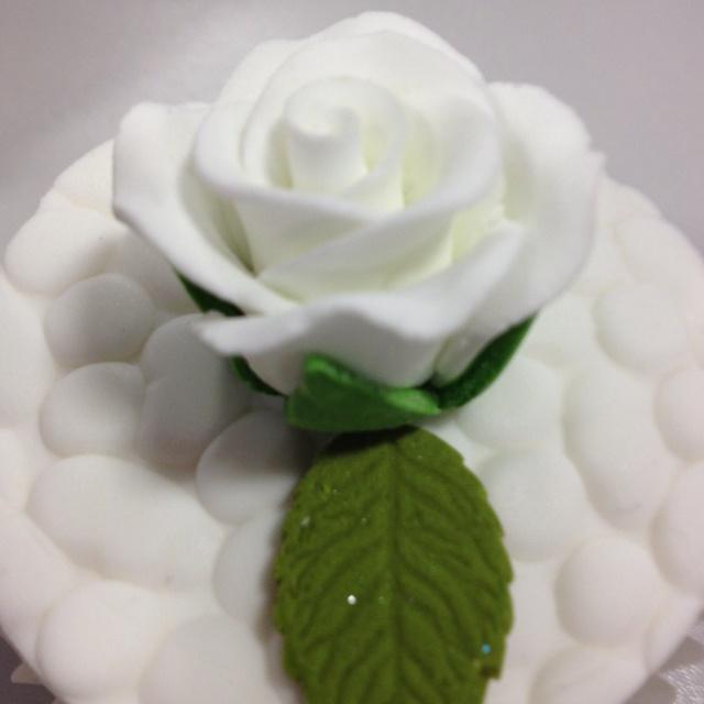 Cupcake design for wedding potential?
