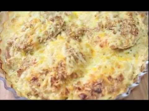 Receta de Pechuga de pollo gratinada - Divina Cocina - YouTube