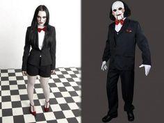 É fã do filme Saw? Então esta fantasia é ideal para você! #saw #fantasias #halloween #jigsaw #costume