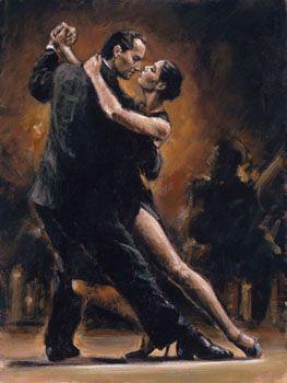 Tango Art | Tango Art Exhibit & Paintings | Tango Artist Originals