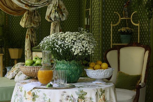 Stunning Winter Garden Interior // Kirill Istomin | Afflante.com