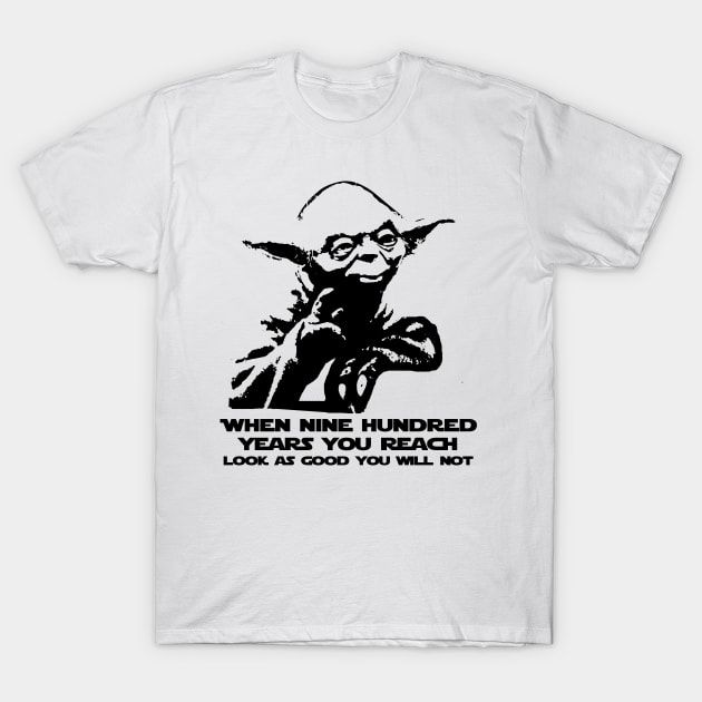 This Yoda Shirt would be a great geeky birthday gift for an ageing Jedi.