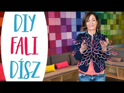 Készíts papírgurigából falidíszt  És tudd meg mi az a fagyapot! - INSPIRACIOK.HU | Csorba Anita - YouTube