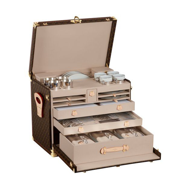 Personal chef not included  Louis Vuitton Picnic Trunk