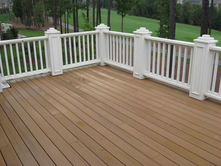 9 best landscaping outdoor ideas images on pinterest for Staining trex decking