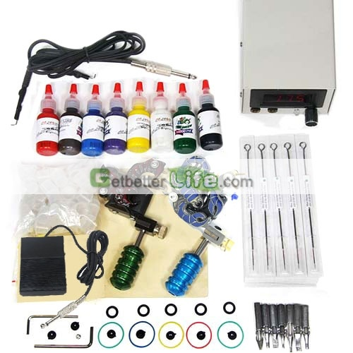 Cheap tattoo kit, tattoo kit supplies are cheap on sale, wholesale from here. [WS-TK004]US$24.99 : getbetterlife.com