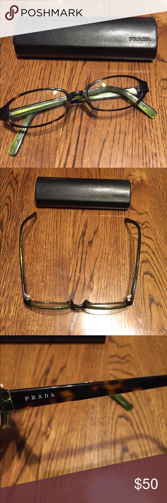 PRADA Eyeglass lenses Just need to be tightened - excellent condition otherwise! Accessories Glasses